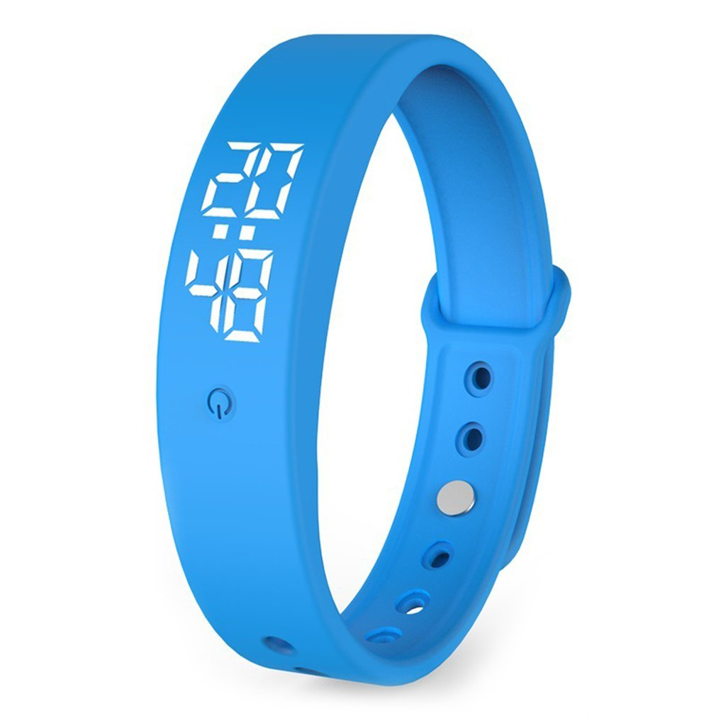 V9 Smart Bracelet Body Temperature Monitoring Precise Display Smart Band Chargeable Accurate Body Temperature Display Watch