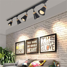 LED track light 7W E27 track lamp led rail lighting clothing store windows showrooms exhibition lighting