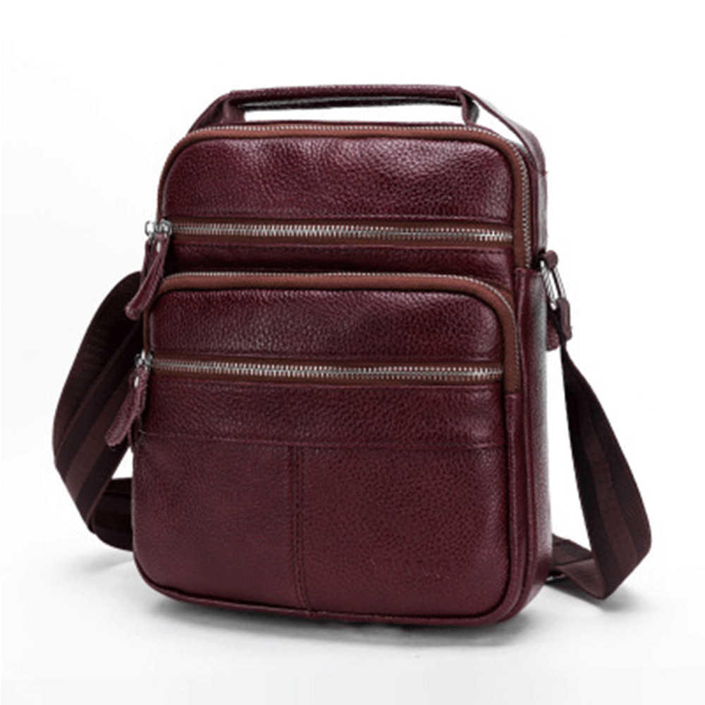 Fashion Shoulder Bags Men's Travel Handbags Travel Bags Genuine Leather Crossbody Men Messenger Bag Mens Of Thick Leather