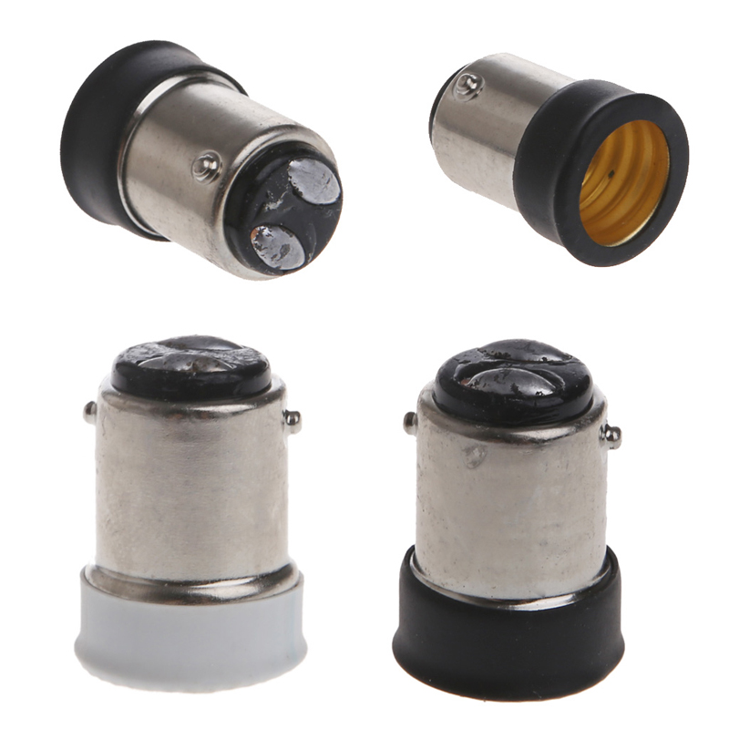 B15 Male to <font><b>E14</b></font> Female <font><b>Lamp</b></font> Bulb <font><b>Socket</b></font> Light Extender Adaptor Converter Holder image