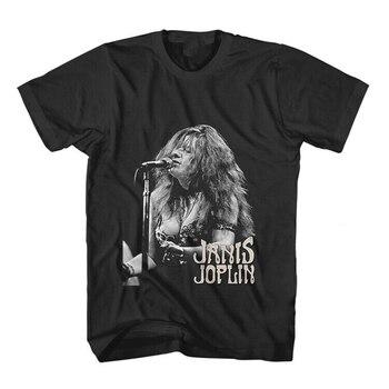 Janis Joplin camisa de manga corta tamaño S - 2Xl tamaño grande Top Ajax camiseta divertida