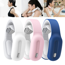 3 Modes Smart Electric Neck and Shoulder Massager Pain Relief Tools Health Care Relaxation Cervical Vertebra Infrared Heating electric cervical vertebra massager handheld hammer infrared heating shiatsu shoulder back neck massager full body relaxation