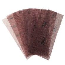 Шлифовальный диск 198*70 мм, наждачная бумага, 80-600 Грит, крючок-петля, без пыли, антиблокировка для автомобильной краски, полировки металла