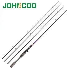 Спиннинговое рыболовное удилище 2,1 М 2,4 м с 3 наконечниками ML m MH 7 ', карбоновое Быстродействующее рыболовное спиннинговое удилище для приман...