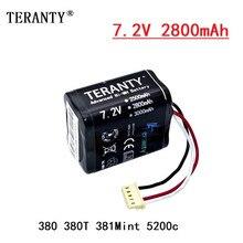 Batterie Rechargeable Ni-MH 7.2V 2800 mAh pour iRobot braava 380 380T 381 menthe 5200c 2800 mAh 7.2v, 1 pièces