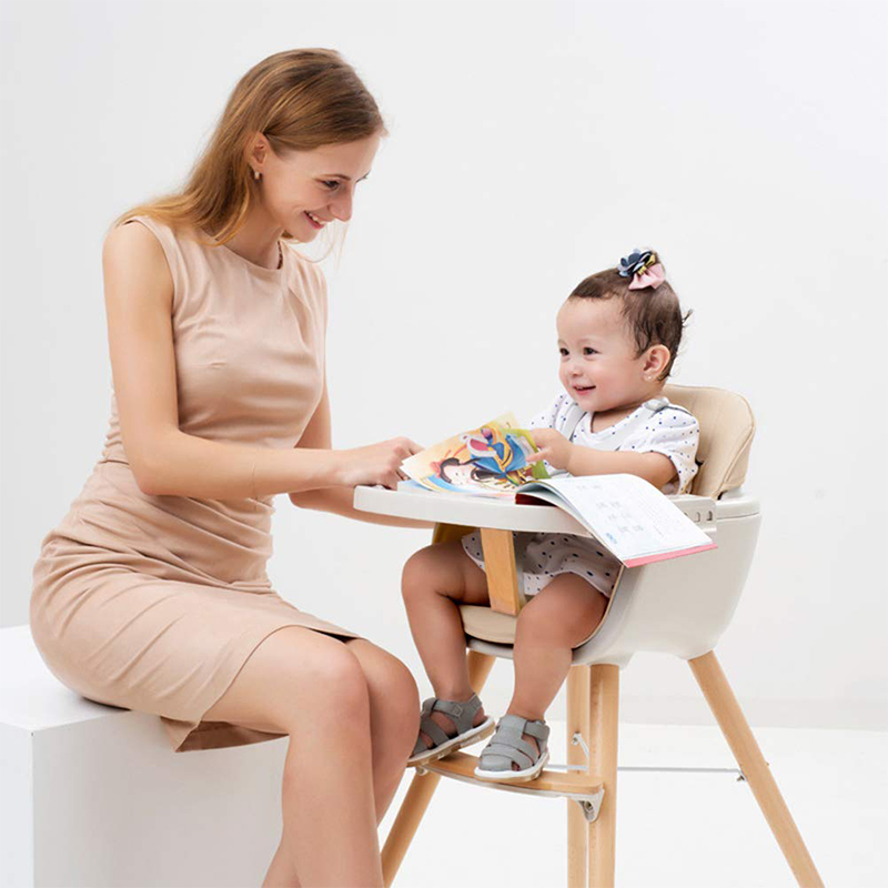 European Baby High Chair Authentic Portable Chairs For Feeding Baby High Chairs Multifunctional Baby Dining Rattan Chair