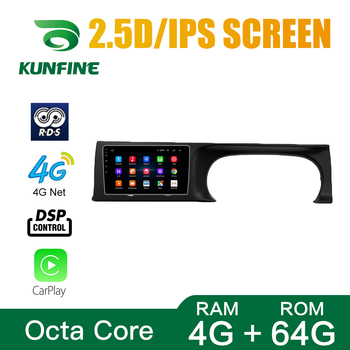 Octa Core Android 10.0 Car DVD GPS Navigation Player Deckless Car Stereo for KIA Seltos 2020RHD Headunit image