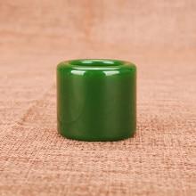 Natural Green Jade Stone Ring Fashion Charm Jadeite Jewelry Carved Fine Accessories Amulet for Men Women Gifts jadeite genuine jadeite a goods bracelet ice full of green beautiful round articles quartzite jade bracelet