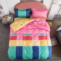 Cute Bedding Sets cartoon Quilt Cover Pillowcase Warm Soft bed sets twin full queen king duvet cover sets children bedclothes