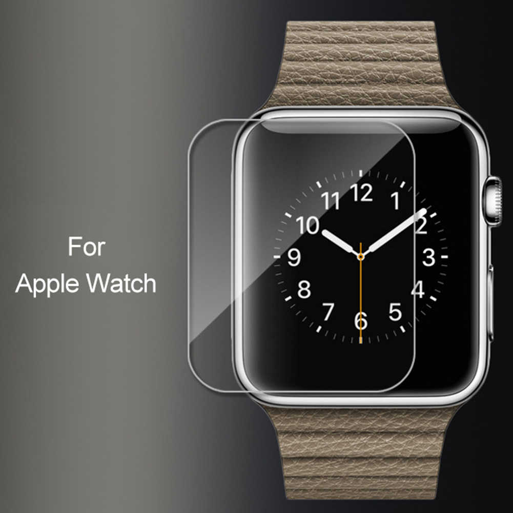 2Pcs Tempered Glass Anti-Scratch Protective Film for Watch 38/40/42/44mm