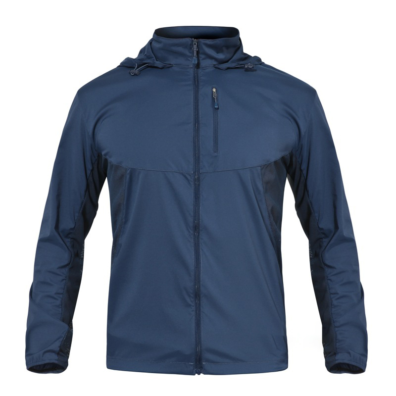 Lightweight Waterproof Jacket Spring And Autumn Summer Quick Drying Jacket Camouflage UV Protection Breathable Men's Windbreaker