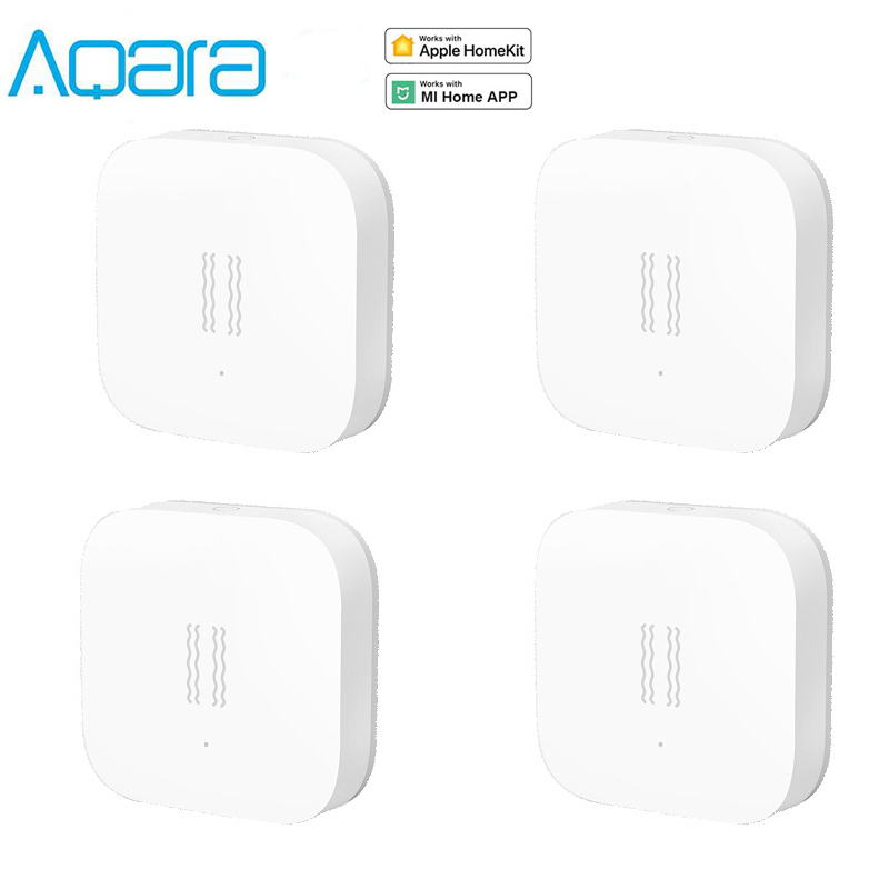 Xiaomi Aqara Smart Vibration Sensor Zigbee Motion Shock Sensor Detection Alarm Monitor Built-in Gyro For Home Safety Mi home