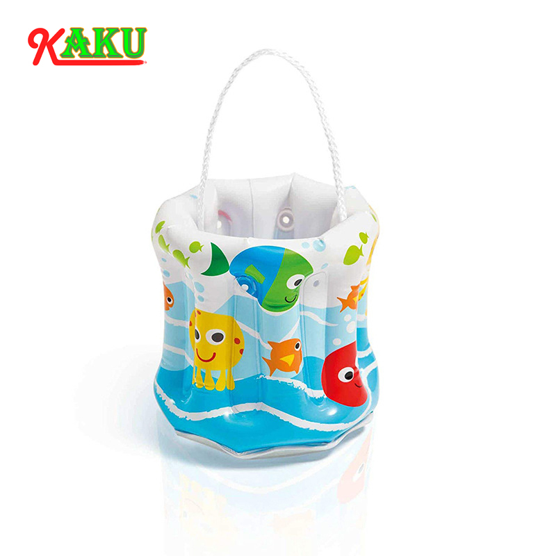 Children Multifunctional Inflatable Toys Barrels Beach Toys Periscope Toys 6P Environmental Protection PVC Material Buckets Toys