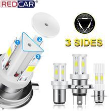 Лампы Налобные светодиодные для мотоцикла, 6000 лм, K, P15D, H6, HS1