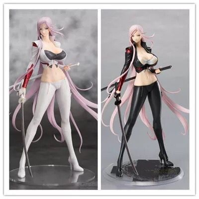 27cm <font><b>Sexy</b></font> Girl Orchid Seed Triage <font><b>X</b></font> Yuka Sagiri 1/7 Scale Action Figure Toys Darkness/ White Ver. Anime Figure Model Toy image