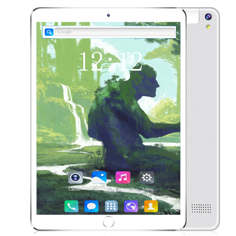 4G LTE 128G 10.1 Inch Glass Screen Tablet Deca Ten Core 6GB 128GB ROM Dual SIM 8.0 MP GPS Android 8.0 Google IPS The Tablet Pc