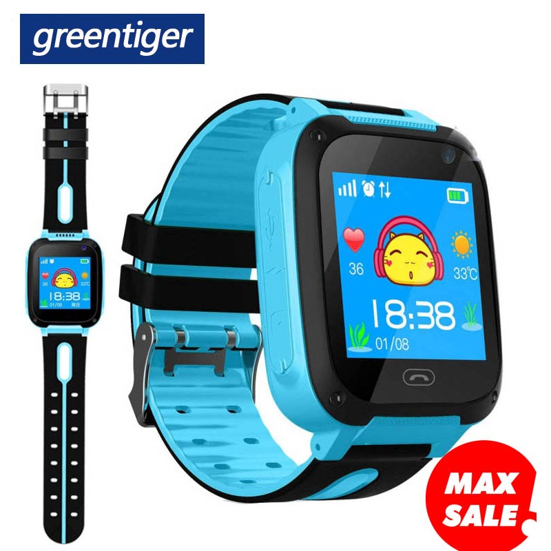 Greentiger Kids Smart Watch S4 Waterproof SIM Card Dial SOS Camera Children Smart watch for Baby safe Android IOS Phones Locator-in Smart Watches from Consumer Electronics on AliExpress - 11.11_Double 11_Singles' Day