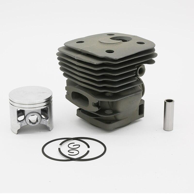 56MM Cylinder Head Piston Set Fit HUSQVARNA 395 XP 395XP 503993971 Garden Gas Chainsaw Engine Motor Parts