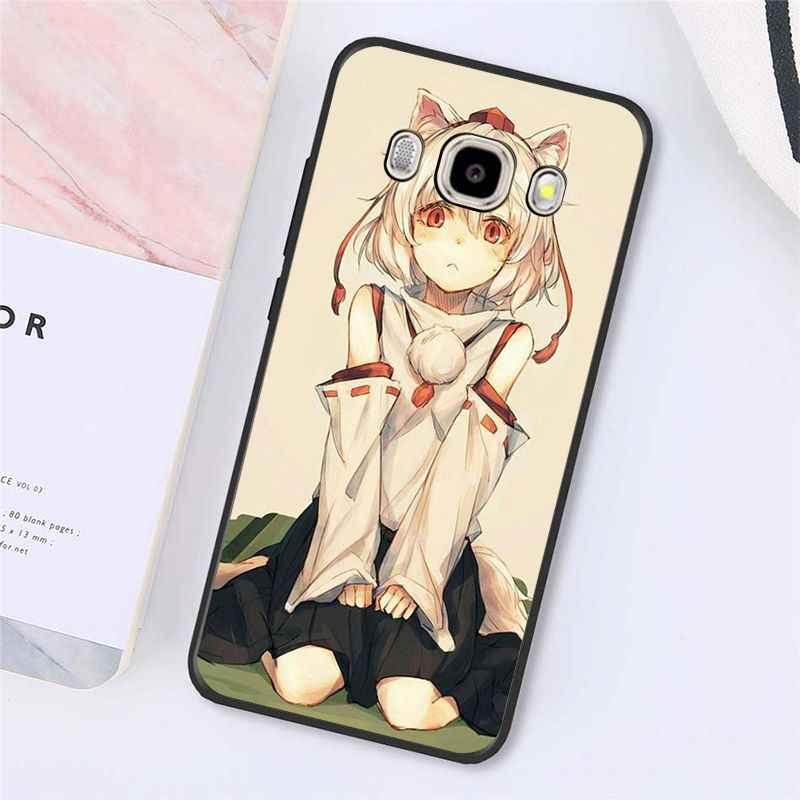 Babaite seksi karikatür anime kawaii kız kedi telefon kılıfı için Samsung Galaxy J7 J6 J8 J4 J4Plus J7 DUO j7NEO J2 J7 başbakan