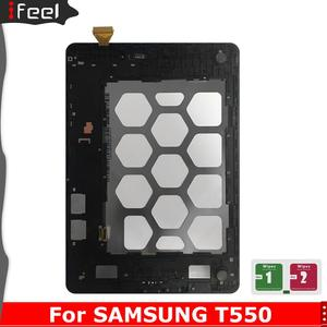 For Samsung Galaxy Tab A 9.7 SM-T550 T550 T551 T555 LCD Display + Touch Screen with Frame(China)