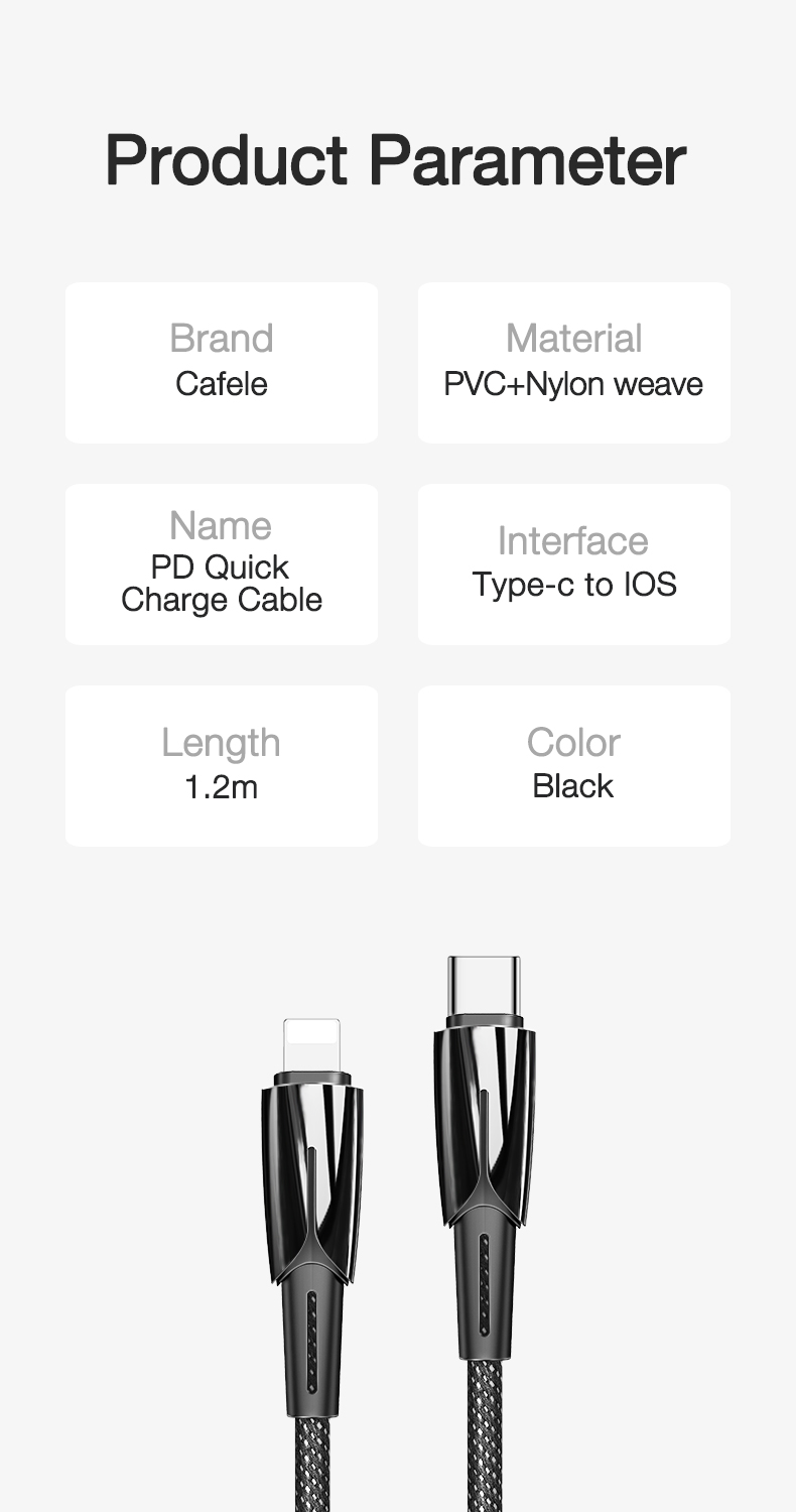 USB C to for Lightning Cable (12)
