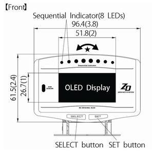 Image 5 - Kit sport 10 en 1 Kit complet BF CR C2 avance ZD jauge automatique numérique avec capteurs électroniques