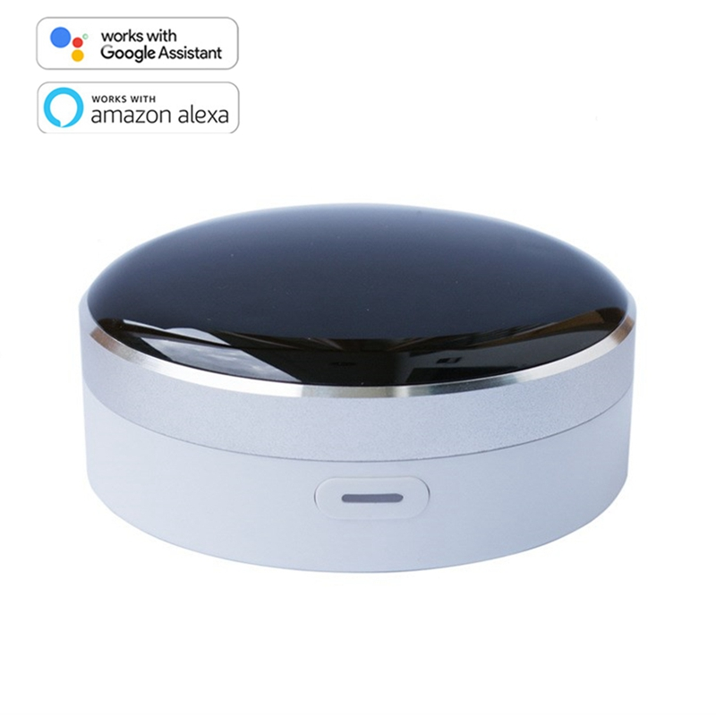 Tuya App Universal IR Smart Remote Controller WiFi+Infrared Home Control Hub 360 Degrees for Google Assistant Alexa Siri image