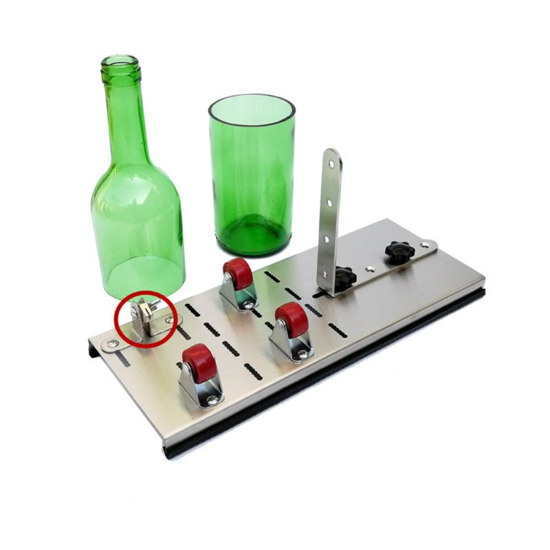2pcs Wine Bottle Cutting Tools Replacement Cutting Head for Glass Cutter Tool U50A