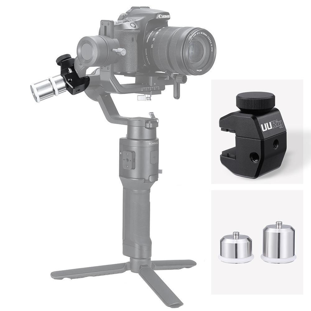 Poplar DSLR Camera stabilizer Wide-usages Stabilizer (Black)