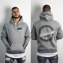 Fitness Sweater Men's Hooded Pullover Sports Loose Casual Long Sleeve Jacket Basketball Fashion Printed Gym Tops Ropa Deportiva