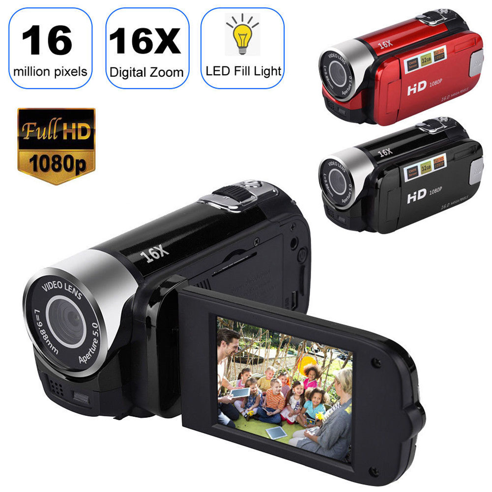 1080P  DVR Camcorder Shooting Anti-shake Clear Gifts Digital Camera Professional Timed Selfie High Definition Night Vision 5