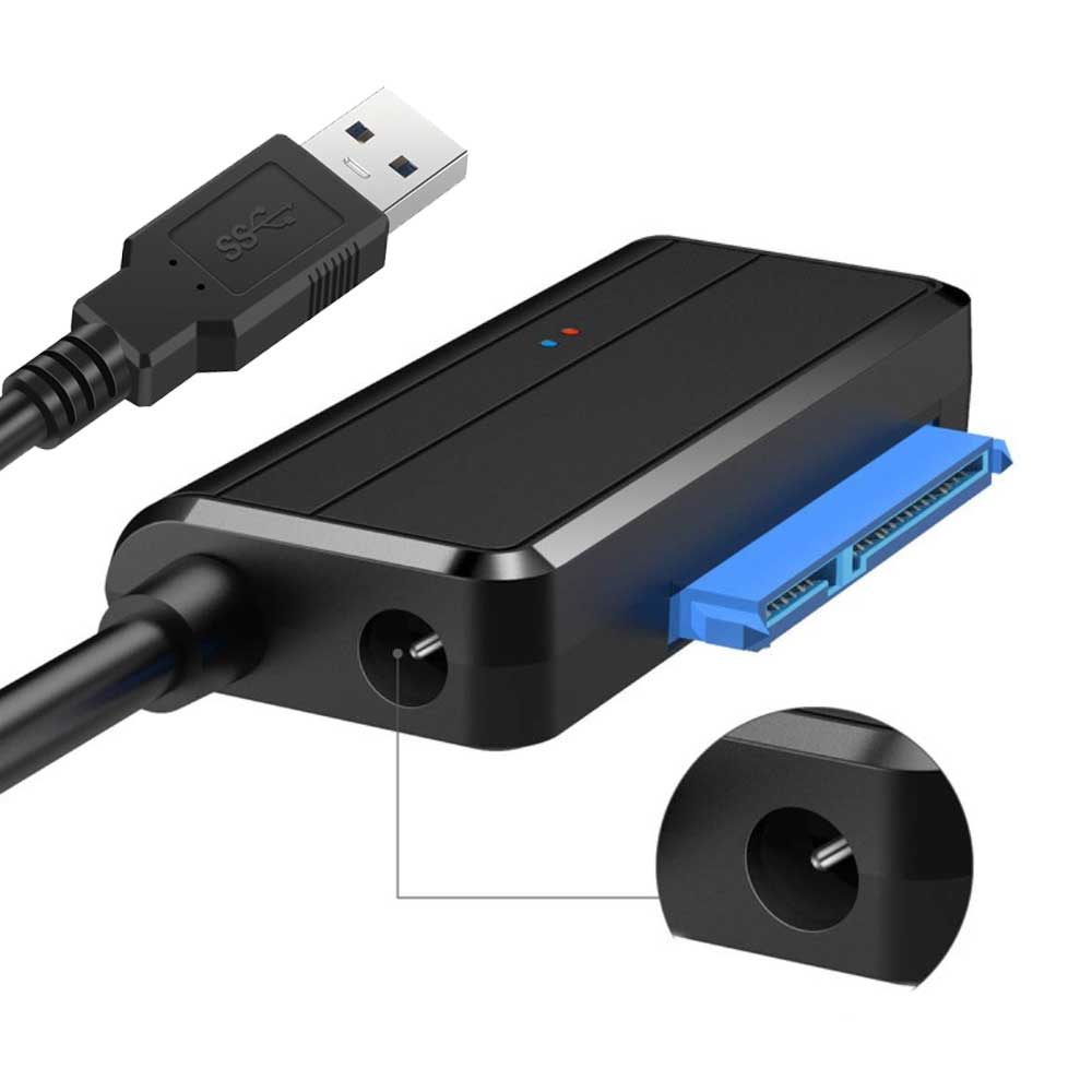 "USB 3.0 To Sata 3 2 1 HDD SSD Hard Disk Drive Adapter Converter Cable SataIII To USB 3.0 for 2.5"" 3.5"" Inch Sata III II I"