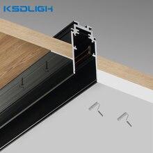 Алюминиевый магнитный светодиодный светильник с рельсовым держателем