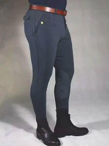 Trousers Horseback-Equipment Riding-Pants Equestrian Breeches Skinny Male High-Elastic