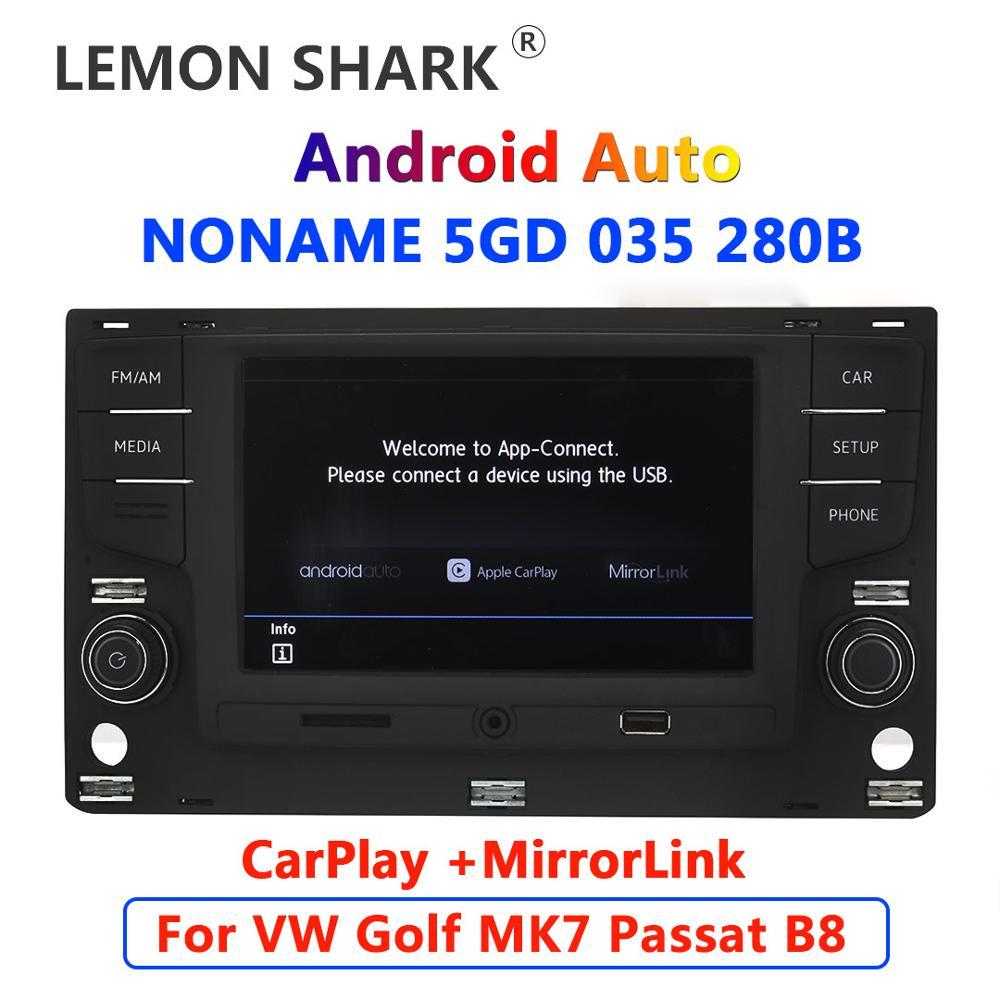 "Android Автомагнитола 6,5 ""MQB MIB Noname 5GD035280B MirrorLink для VW Golf 7 MK7 VII Passat B8 5GD 035 280 B|Автомобильные радиоприемники|   | АлиЭкспресс"