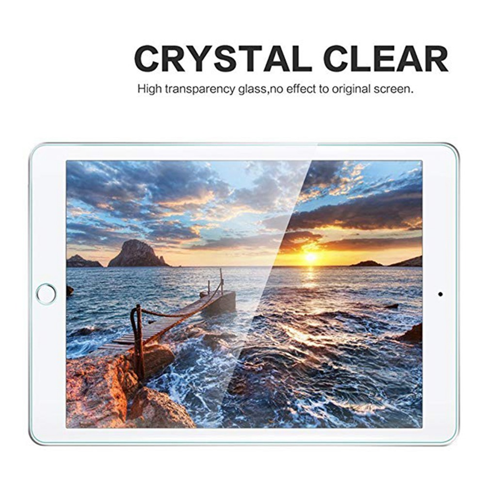 WOWCASE Tempered Glass For iPad Pro 2018 11 inch Screen Protection Film Blue&Clear HD 9H Scratch Proof Blue Light Filter Case