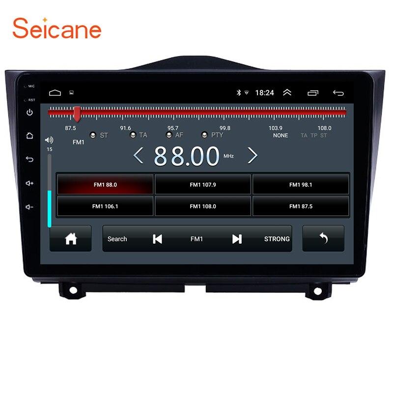 Seicane 2DIN Android 8,1 9 дюймов Автомобильный gps Радио стерео блок плеер для 2018 2019 Лада гранта поддержка Carplay DAB + DVR OBD