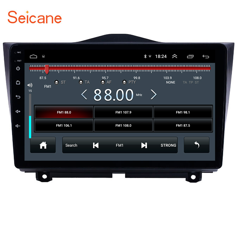 Seicane 9  2DIN Android 8.1 car radio multimedia player gps navigation For 2018 2019 Lada Granta support Carplay DAB+ DVR OBD image