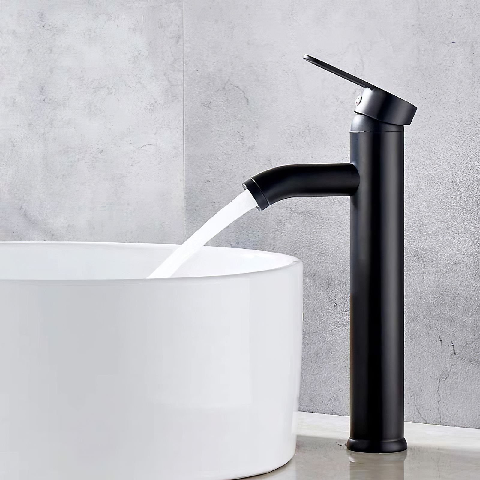 H30ac14e134dc4d6ca9128ef0e9c2e886O Modern Bathroom Basin Faucet Waterfall Deck Mounted Cold And Hot Water Mixer Tap Brass Chrome Vanity Vessel Sink Crane