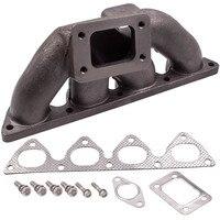Cast Iron T3/T4 B16/ B18 Turbo Exhaust Manifold For Honda Civic EF EG 1988 2000 for B16/B18/B20 HONDA B SERIES