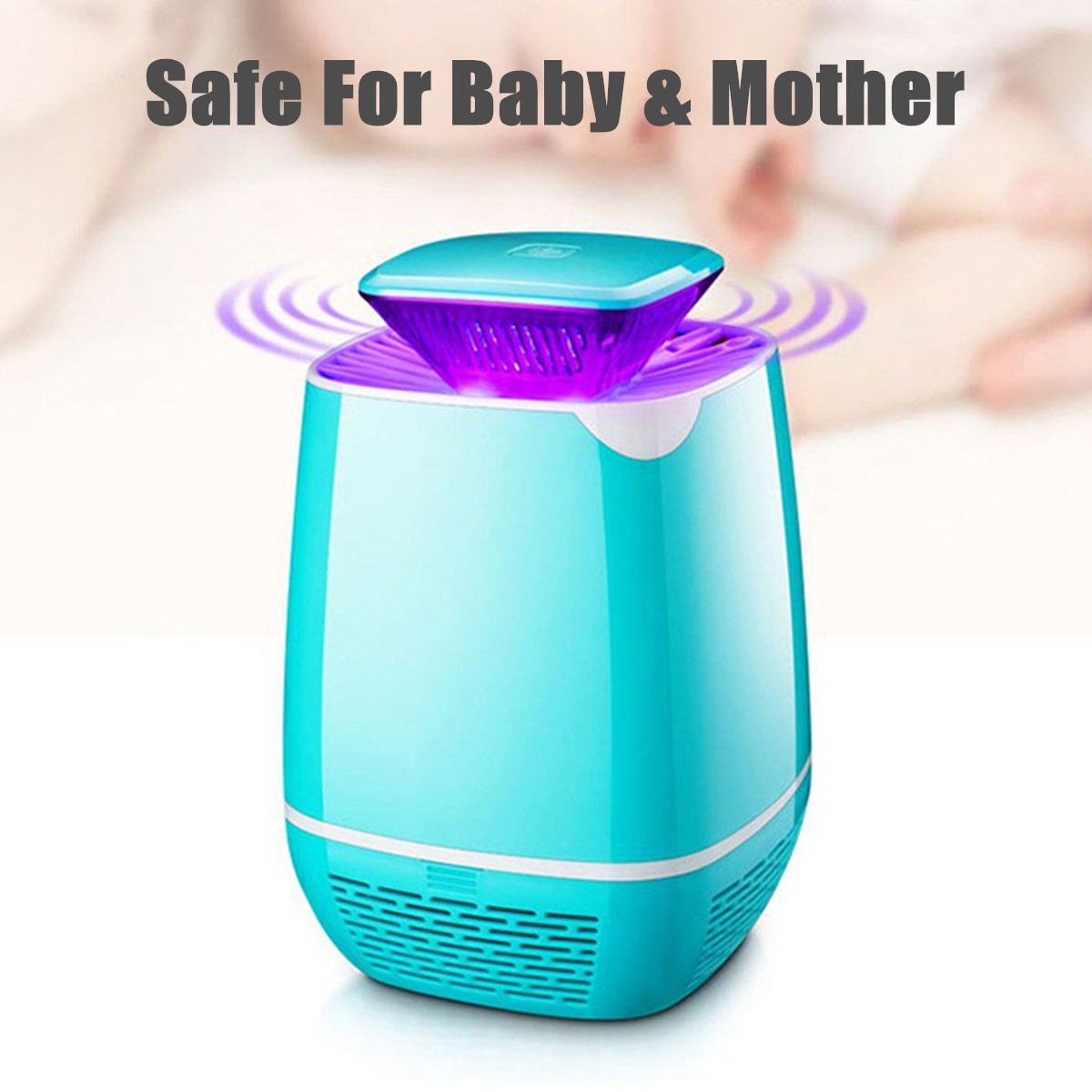 Mosquito Insect Killer Lamp USB Electric LED Light Fly Bug Zapper Trap Catcher L