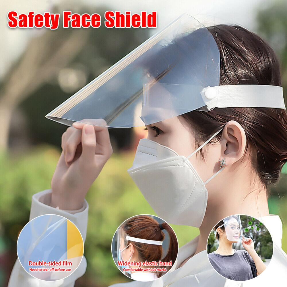 1/2/4/10PC Masks Anti-fog And Anti-dust Mask Safety Splash Mask Full Face Shield Mask Flip Up Visor Protection