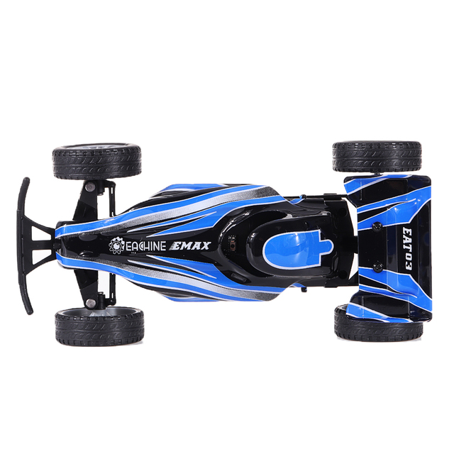 Eachine EMAX EAT03 2.4G Blue Electric FPV RC Car With Glasses for Interceptor Full Proportional Control RTR Model RC Car