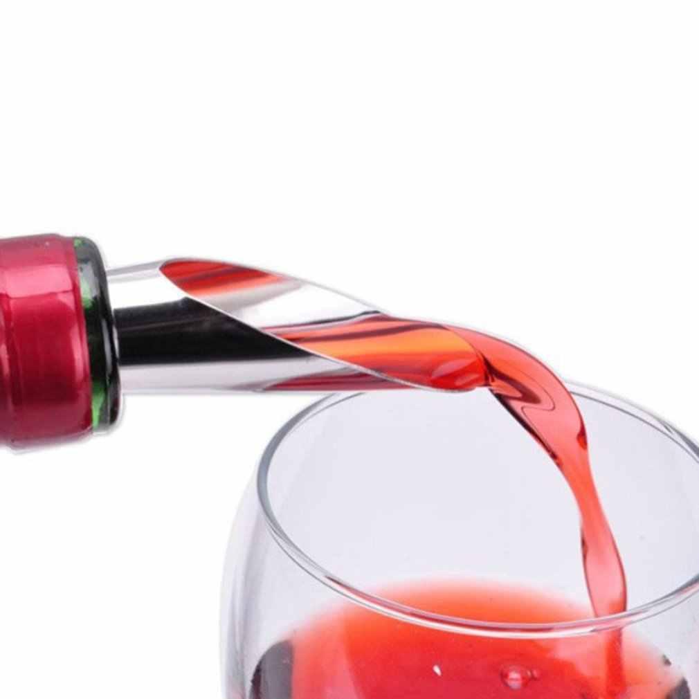 クリエイティブステンレス鋼注ぎ口ワイン保存プラグワインボトルストッパーワイン道具用品