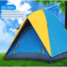 (3-4) people windproof camping tent double waterproof outdoor travel tourism tent UV protection travel tent automatic camping tent with uv protection 2020 open tent portable waterproof tent outdoor family tourist camping sun shade tent