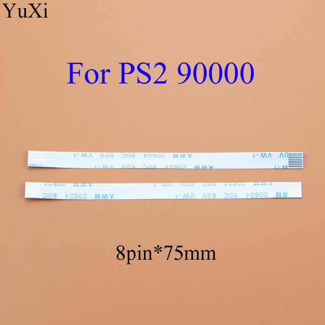 YuXi For PS2 30000 50000 5W 70000 7W 79000 90000 9W  Power Reset Switch Flex Ribon Cable 5