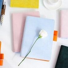 Cubierta de tela A5 A6 para Notebook, carpeta de hojas sueltas, papel de cuadrícula de relleno, planificador separado, bolsa de recepción, Bloc de notas de papel de almacenamiento de tarjetas