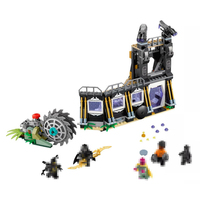 07106 Superhero Series Crow Grave Ostrich Attack Educational Toy Building Block Bricks Toy 76103 Compatible with
