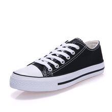 Парусиновая обувь с низким верхом для мужчин и женщин повседневная
