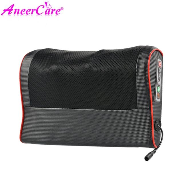 Neck Healthy Massageador Relaxation Shiatsu Electric Back Massager Neck Shoulder Massager Pillow Infrared Heating electric 3